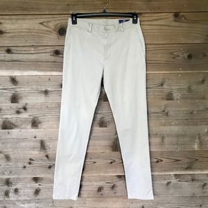 Vineyard Vines Khaki Breaker Slim Pants Sz 30x34